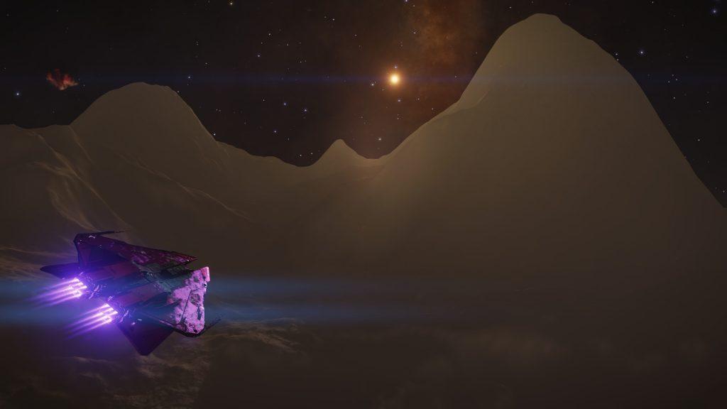 Cette montagne culminait à plus de 15km de haut...