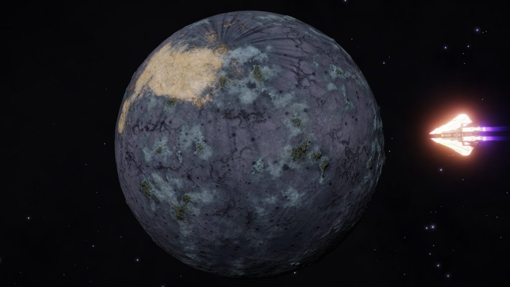 Même des mondes rocheux peuvent être magnifiques - celui-ci se trouve dans le système NGC 6530 CDZ 310