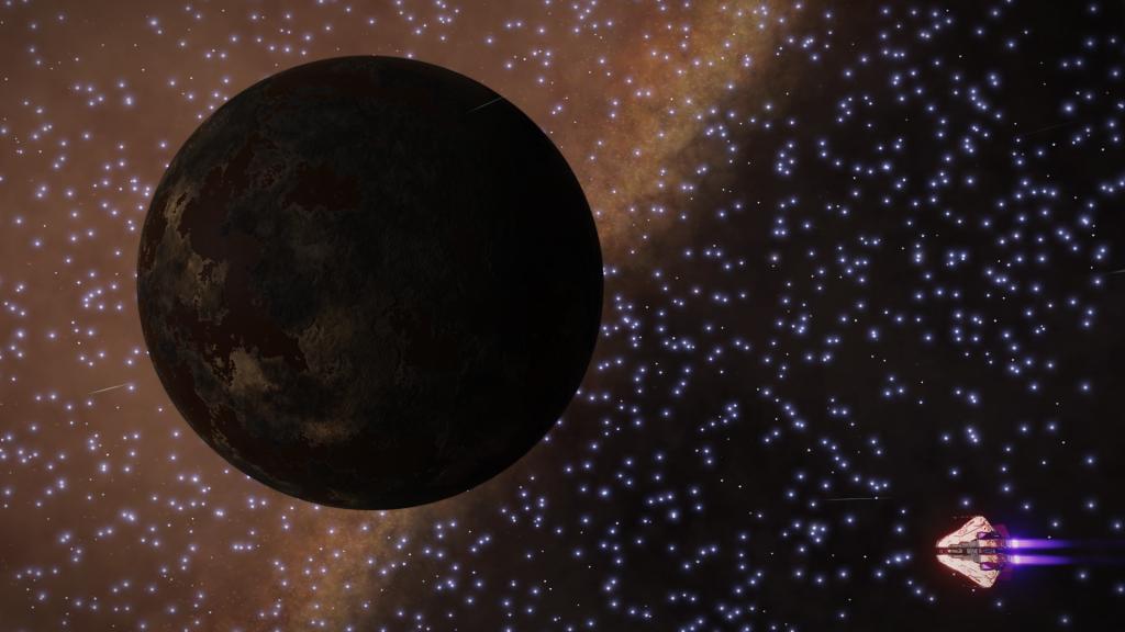 Monde ammoniaque dans le noir - Juenae OI-S d4-3803