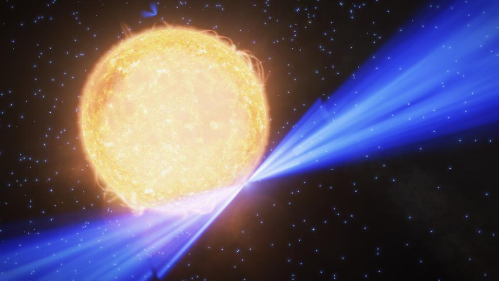 La neutron tourne si vite que mes yeux ne suivent pas !
