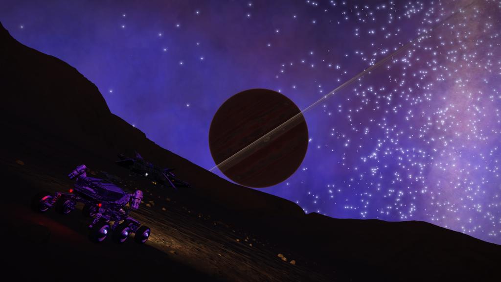 Et devant mon vaisseau !
