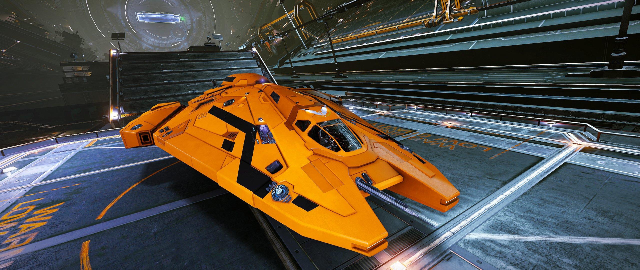 Le Viper MKIII du Cmdr Békir Chance a probablement éliminé plus de 250 vaisseaux impériaux.