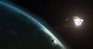 Titan en orbite